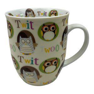 Creative Tops 16 oz Ceramic Owl Mug Cup Twit Twoo